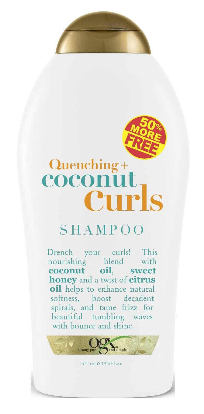 Ogx Shampoo Coconut Curls 19.5 Ounce (577ml) (Pack of 2)