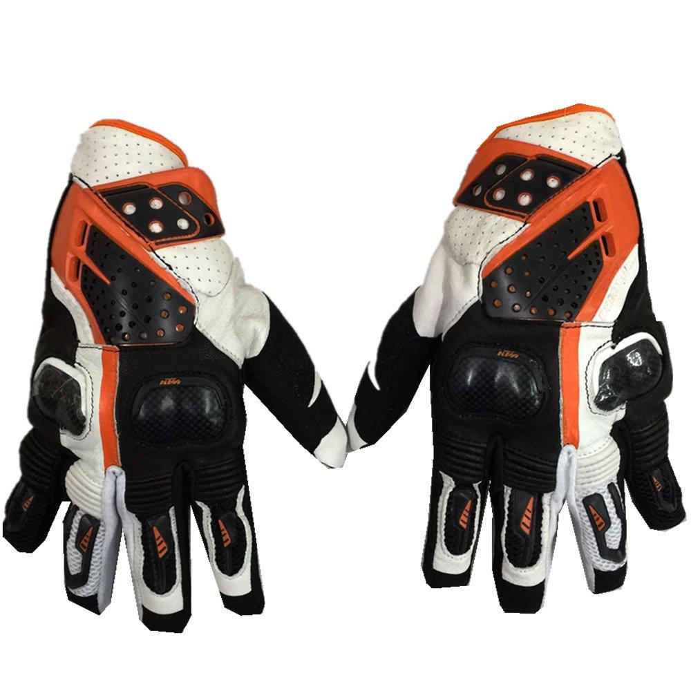Guanti da Lavoro Guanti da Ciclismo Moto Full Finger per Moto Arrampicata Escursionismo Caccia Pesca Sport all'Aria Aperta Taglio Resistente Protettivo (Dimensione   M)