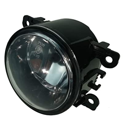 Fanlide Fog Light Lamp Assembly Front for Ford, Replacement 4F9Z-15200-AA, 4F9Z15200AACP, FO2592217, 88358: Automotive