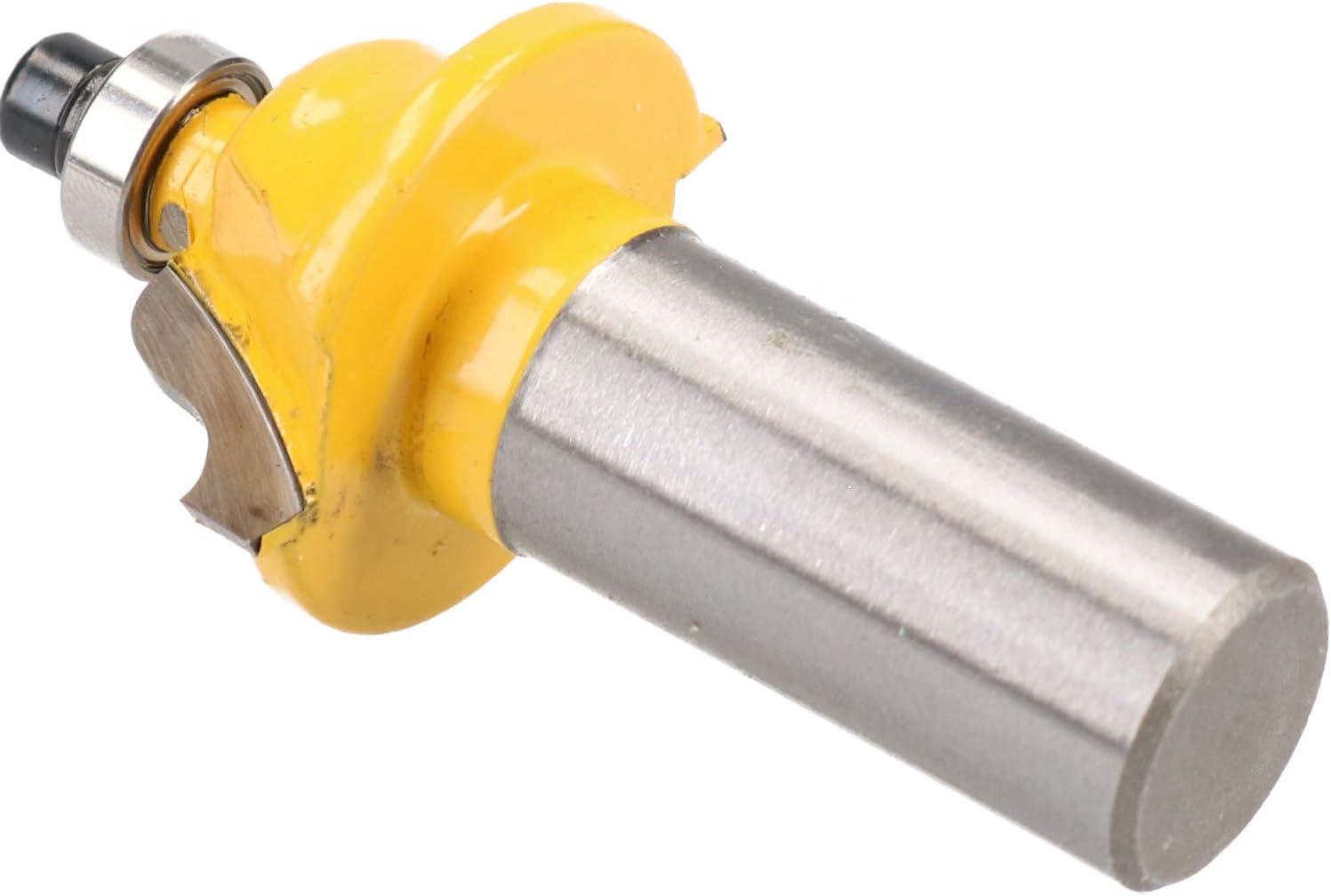 3 Pack TCT Roman Ogee Edging Router Bit 25mm D 4mm Radius Cut Tool 1//2 Shank