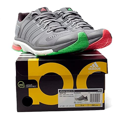 low priced 4ca9c 73568 adidas Adistar Boost M Chill B44142 Running Shoes Grey Mens Trainers Sneaker  Shoes Size EU