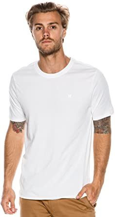 ca3a604c8 Amazon.com: New Hurley Men's Icon Dri-Fit Ss Tee Crew Neck: Clothing