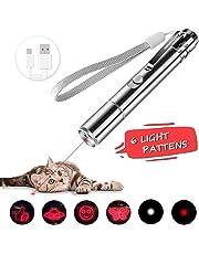SAMMIU LED Pointer für Katzen 3 in 1 Katze Chaser Spielzeug Katze interaktive Spielzeug mit USB Kabel