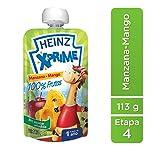 Heinz X Prime, Sabor Manzana y Mango, 113 g, 24 Piezas