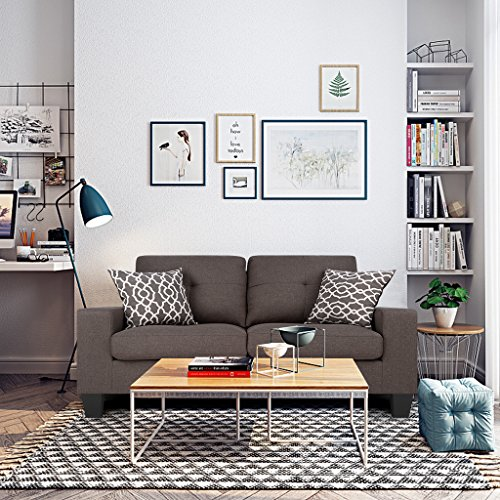 Two Seat Upholstered Sofa - 6