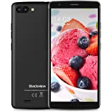 "Telefonia Mobile, Blackview A20 (2018) Smartphone da 5.5"" IPS 18:9(Full Screen) Cellulari in Offerta, Android Go, 8GB ROM, 3G Dual SIM,Quad-Core, Doppia Fotocamera da 5 MP, Batteria 3000 mAh, Grigio [Italia]"