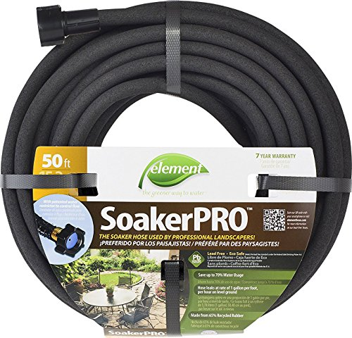 Swan Products ELSP38050 Element SoakerPRO Professional Landscaping Soaker Hose, 50' x 3/8