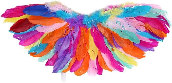 ranrann Alas de Pájaros para Niña Niño Cosplay Loro Costume ...