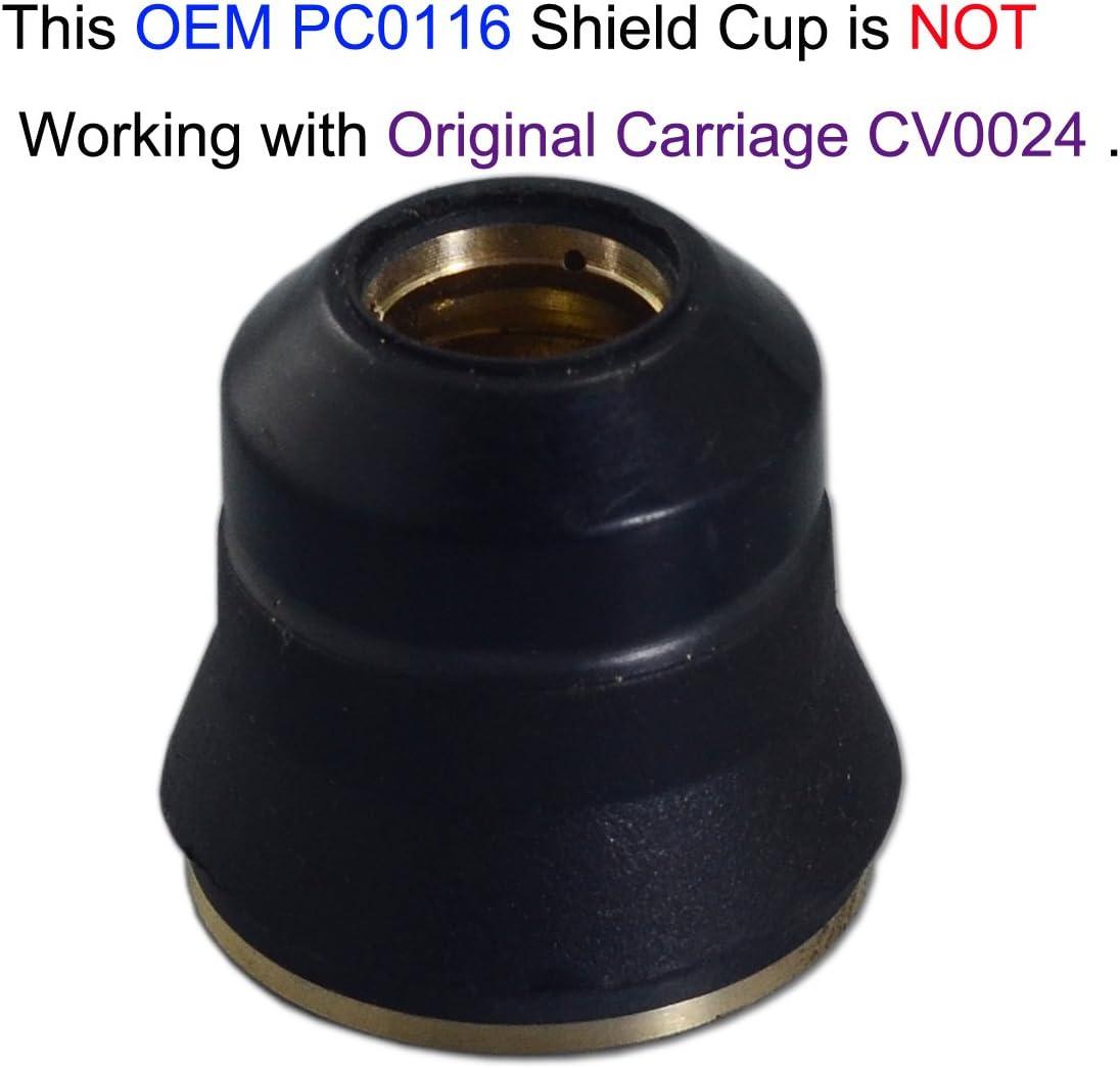 PD0116-06 Plasma Tip PR0110 Plasma Electrode CV0010 Fit Trafimet S45 Torch 22PK