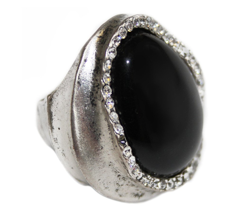 Cocoa Jewelry Crystal Stretch Ring