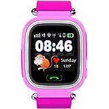 Amazon.com: Q90 Smart Watch Kids SOS Alarm Clock GPS WiFi ...