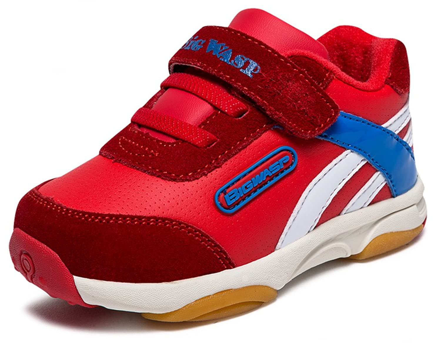 InStar Kids Fashionable Hook and Loop Antiskid Sports Sneakers Shoes