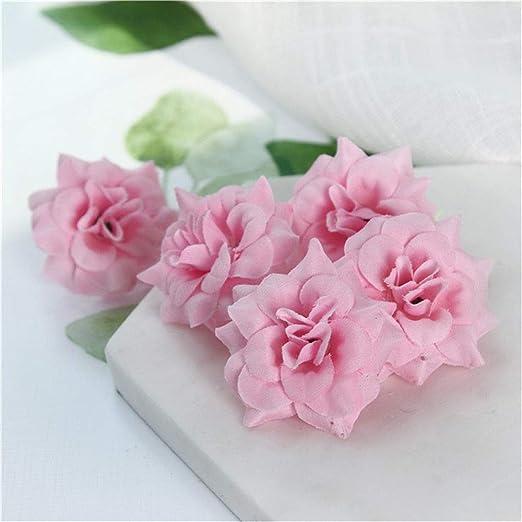 Sf World 50 X Kunstseide Kopfblumen Rosen Blume Hochzeit Haarreif
