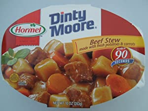 Dinty Moore Beef Stew with Fresh Potatoes & Carrots Microwavable Bowl 10 oz