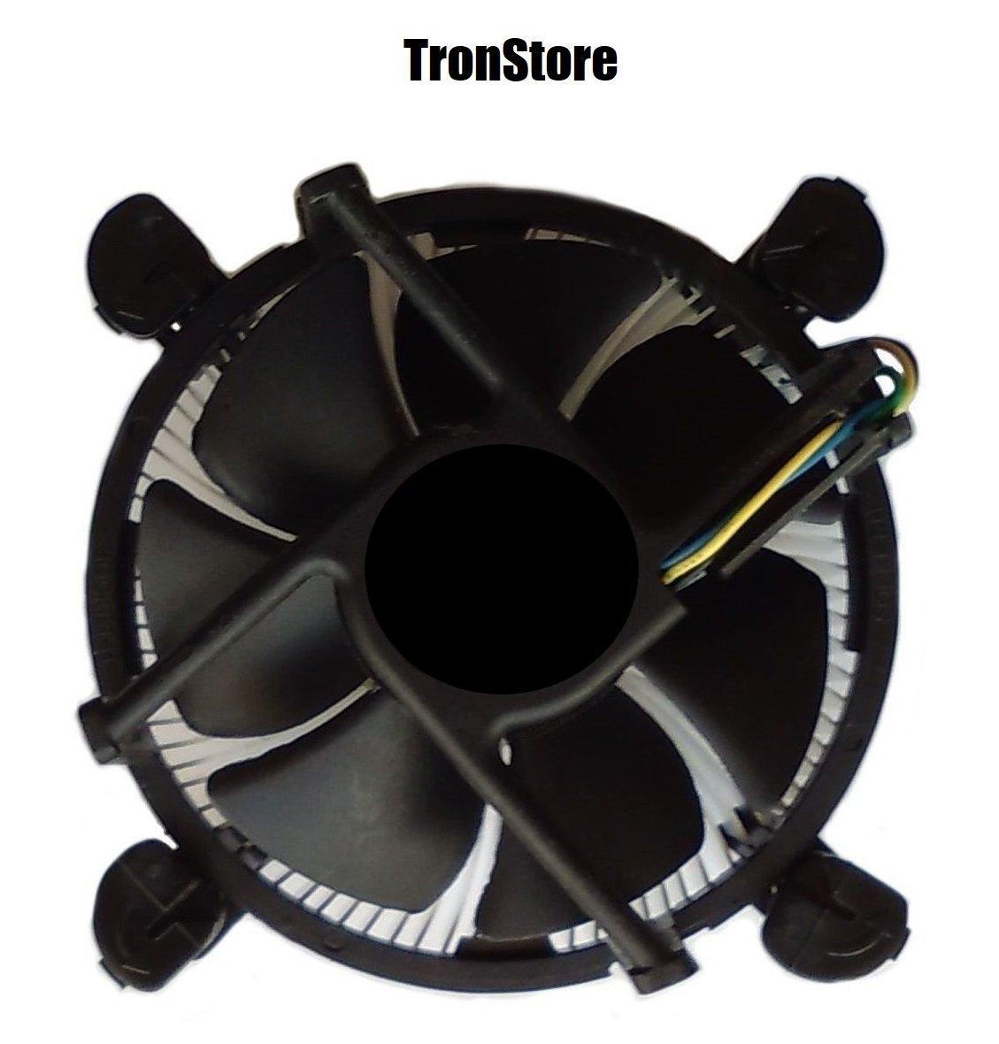 TronStore TS-1 Premium Intel Core i3 / i5 / i7 Socket 1156/1155 / 1151/1150 4-Pin Connector CPU Cooler Copper Core Base & Aluminum Heatsink & 3.5-inch Fan Pre-Applied Thermal Paste