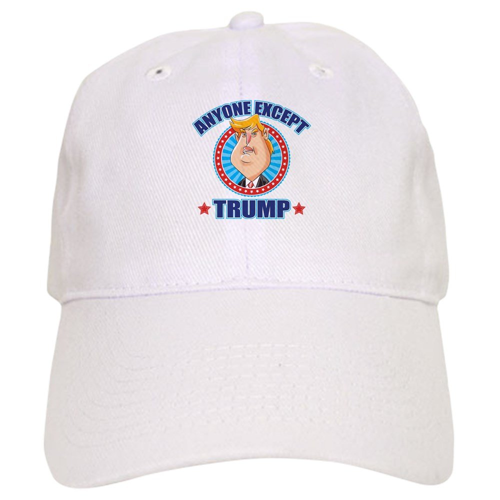 6fb0428cb CafePress Anti-Trump Cap Baseball Cap