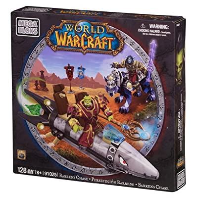Mega Bloks World of Warcraft Barren Lands Chase: Toys & Games