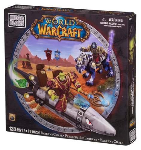 Image of Mega Bloks World of Warcraft Barren Lands Chase