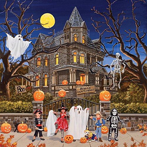 SunsOut Beware Haunted House 1000 Piece Jigsaw Puzzle