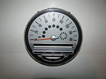 07 10 mini cooper instrument cluster speedometer 37 361 warranty rh amazon co uk