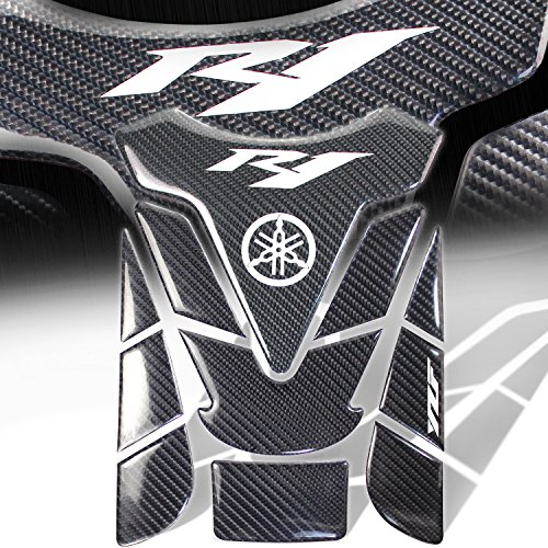 Real Carbon Fiber 3D 11PC Customize Fuel/Gas Tank Pad Decal/Sticker for - Rims Zinger