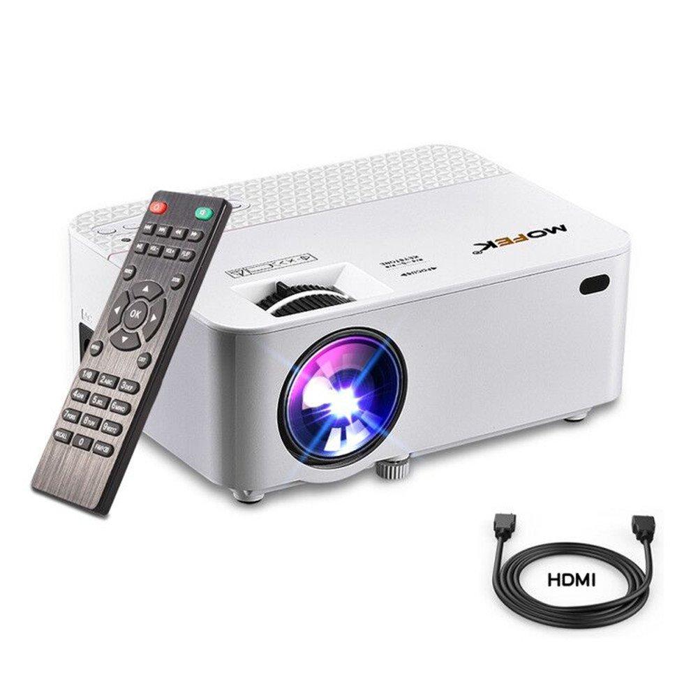 Mini proyector HDMI Full HD mofek 1800 lumens proyector de cine en ...