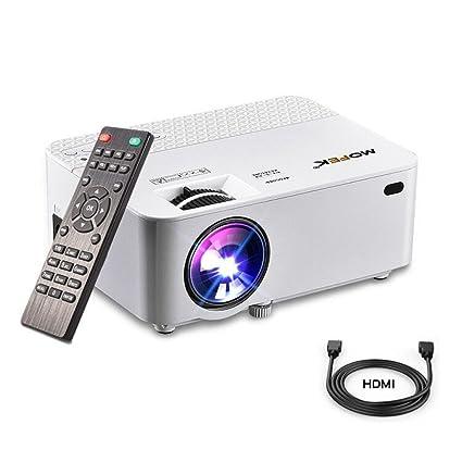 Mini proyector HDMI Full HD mofek 1800 lumens proyector de ...