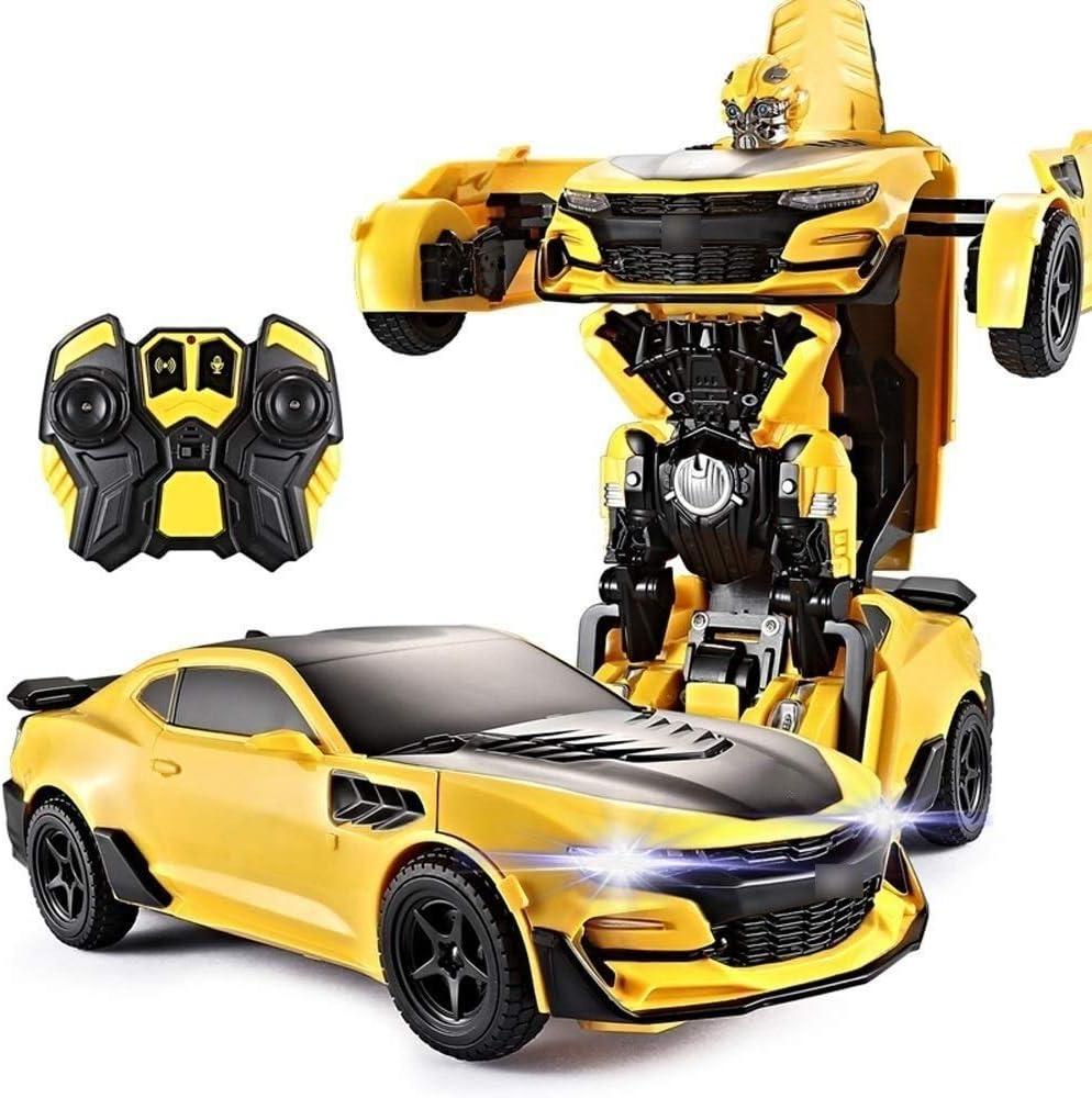 Transformers BUMBLEBEE telecomando RC auto VOLKSWAGEN BEETLE 27MHz giocattolo 5 NUOVO