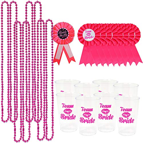 JOYIN Bachelorette Party Accessory Set Including 8 Beads