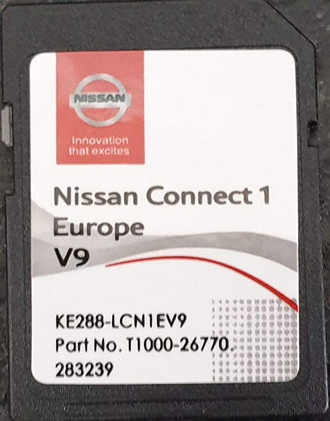 Sd Karte Gps Europe 2019 V9 Nissan Connect 1 Elektronik