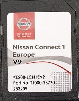 Tarjeta SD GPS Europe 2019 V9 - Nissan Connect 1: Amazon.es: Electrónica