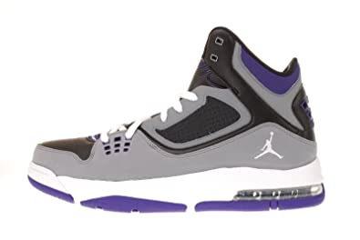 Nike Jordan Flight 23 RST Black Cool Grey Purple Men Basketball Shoes  512234-017 [