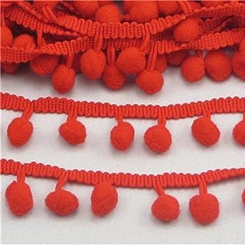 American crafts 3 yard spool pom pom trim//ribbon