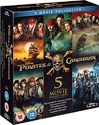 Pirates of the Caribbean - Complete Collection
