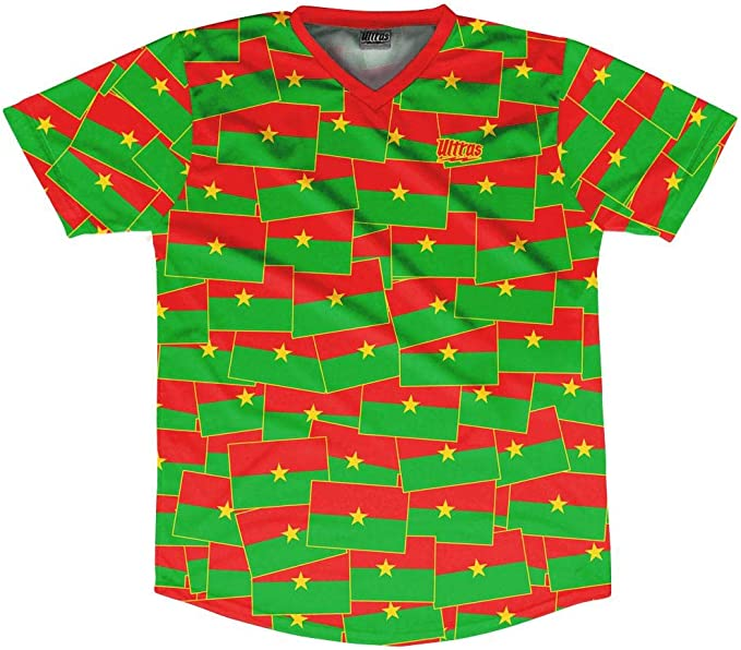 Ultras Benin Party Flags Soccer Jersey
