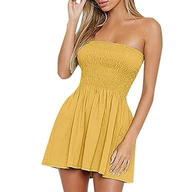 Sylar Vestido Corto Mujer Verano Sexy Vestidos De Fiesta