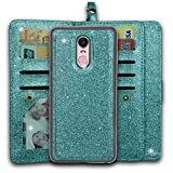 Ymhxcy LG Stylo 4 Wallet Case, LG Stylo 4 Plus Case,LG Q Stylus Case,PU Leather [9 Card Slots][Detachable][Kickstand] Phone Case & Wrist Lanyard For LG Stylus 4-PT Mint