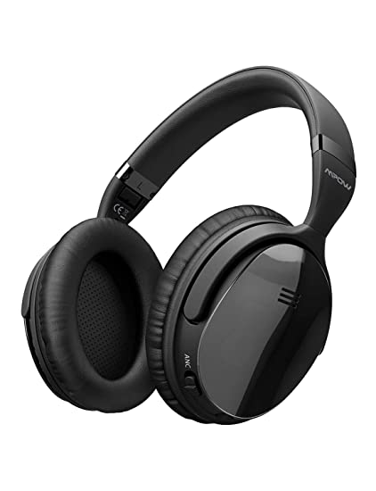 ed31c4ac14f Mpow H5 [Upgrade] Active Noise Cancelling Headphones, ANC Over Ear Wireless  Bluetooth Headphones