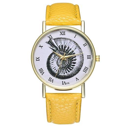 Reloj Patrón Clasico Relojes De Cuero Reloj De Pulsera ...