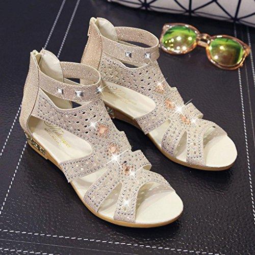 Cu Libre Se Vestido Beige 2 Al Verano Roma Moda Mujeres Naturazy Boca Hueco Punta Sandalias A Pescado Primavera De Abierta Oras Aire Zapatos Brillante Sexy nqP4OCI