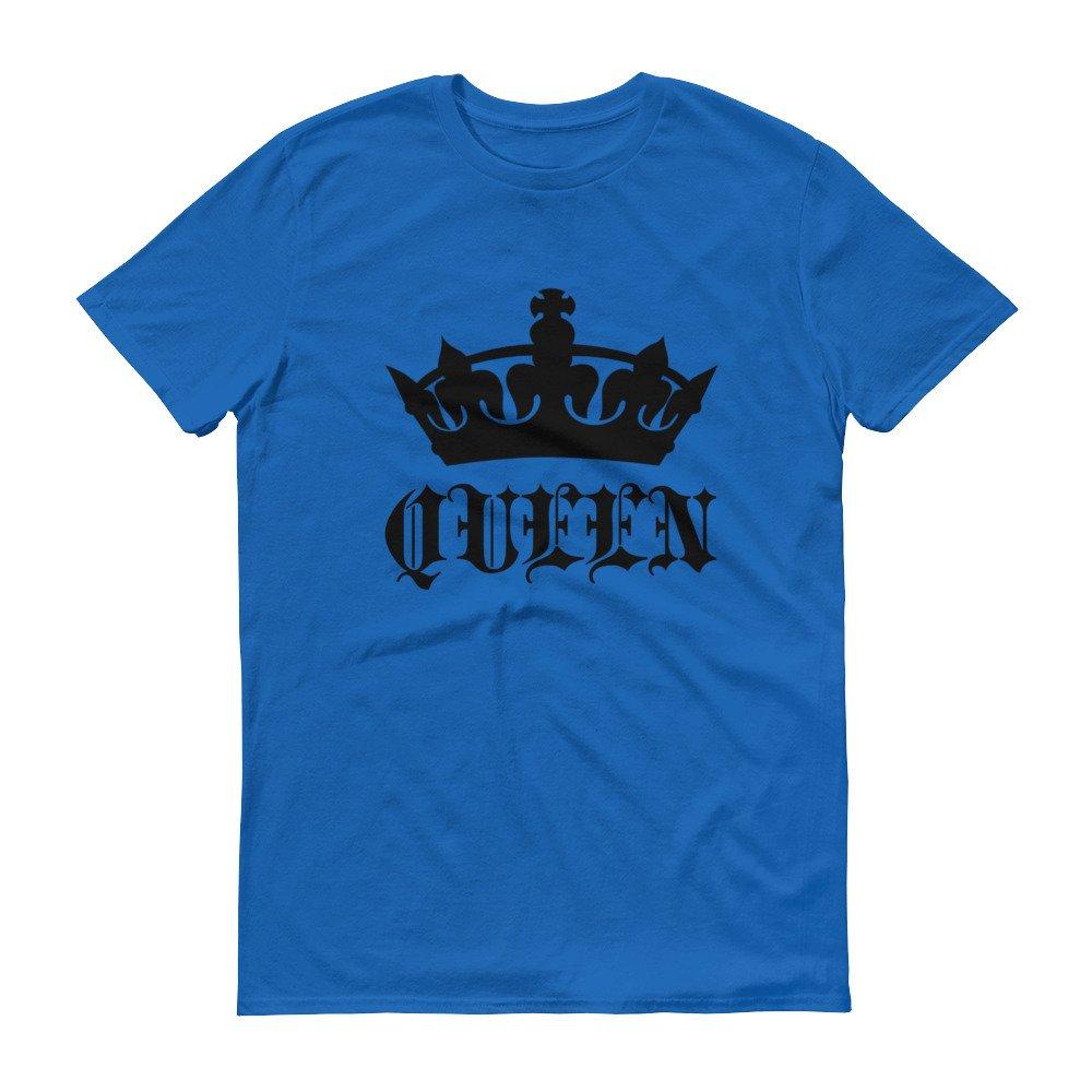 Queen Shirt Crown T Shirt Birthday Girl Design for King Prince Princess Simple Trendy Unisex T-Shirt