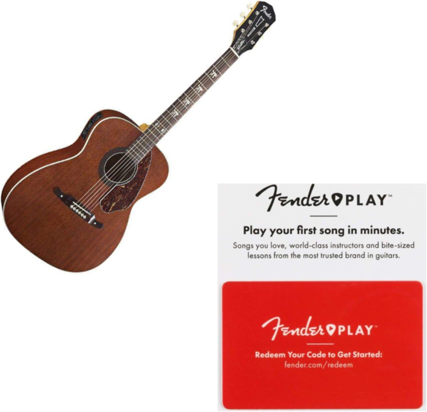 Fender Tim Armstrong Hellcat acústica guitarra eléctrica: Amazon ...