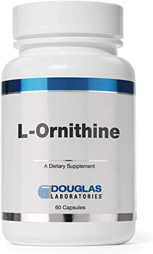 Douglas Laboratories – L-Ornithine – Supports Wound Healing, Hormones and Gastrointestinal Functioning – 60 Capsules
