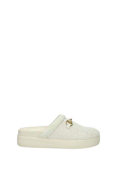 Zapatillas y Zuecos Gucci Hombre - Piel (4968730FI40) EU: Amazon.es: Zapatos y complementos