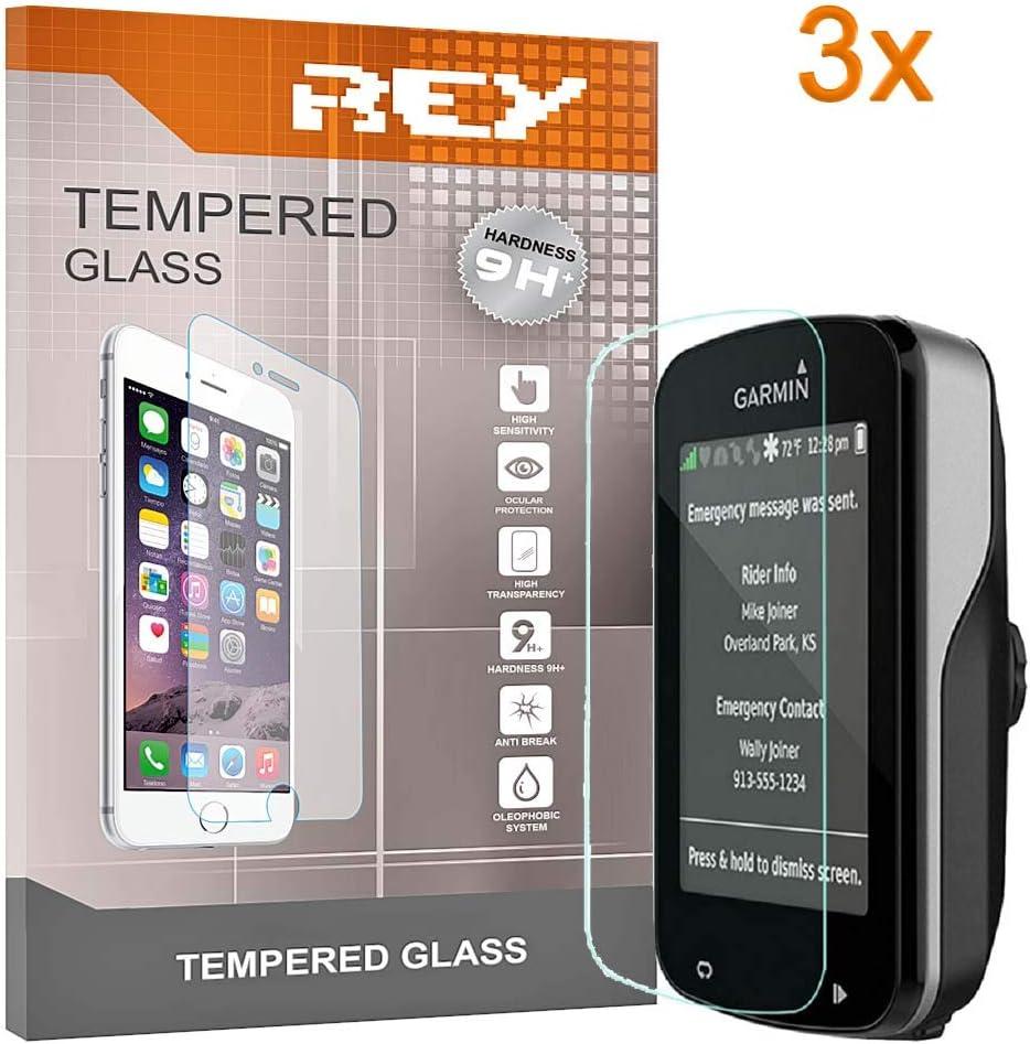 3X Protector de Pantalla para Garmin Edge 820, Cristal Vidrio Templado Premium: Amazon.es: Electrónica
