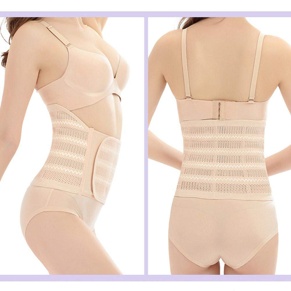 WooyMo Postpartum Belly Wrap Corset Wrap Belt Post Pregnancy Support for Hourglass Body Shaping