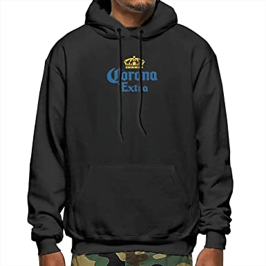 Amazon Com Mens Hoodie Sweatshirt Corona Extra Beer Pullover For Men Clothing