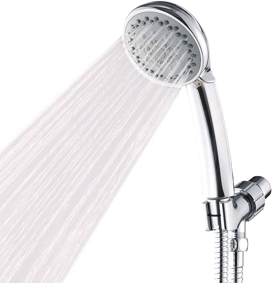 Handheld Shower Head With Hose High Pressure Spray Head