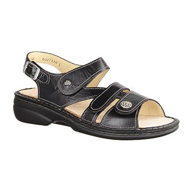 2365fd8dc Finn Comfort Women s Fashion Sandals Black Black  Amazon.co.uk ...