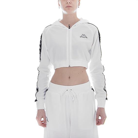 f180f5489d1 Kappa 222 Banda ARAKLI - White/Black (XL): Amazon.co.uk: Clothing